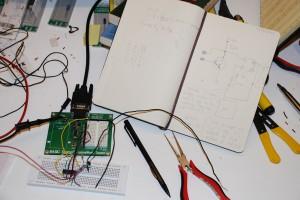 Working water detector prototype!