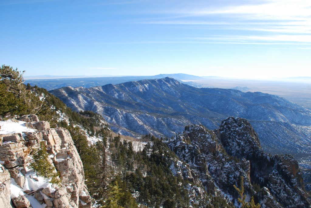 View from Sandia Peak - 2010, Nathan Isburgh